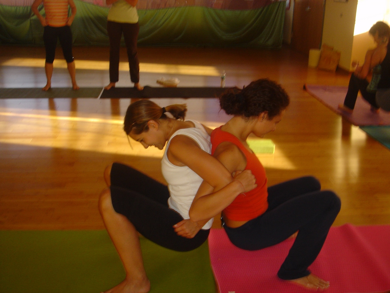 PARTNER YOGA | Rina Yoga, Inc.: www.rinayoga.com/press/gallery/workshops/partner-yoga